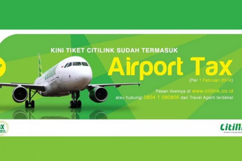 Airport Tax Kini Masuk Harga Tiket Pesawat Citilink