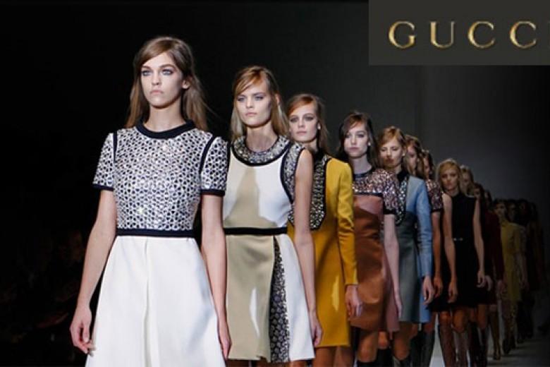 Gucci 'Back to Sixties' di Milan FW