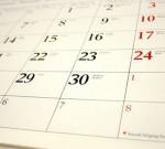 Kalender, Pengatur Kegiatan Manusia