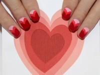 Nail Art Sambut Valentine