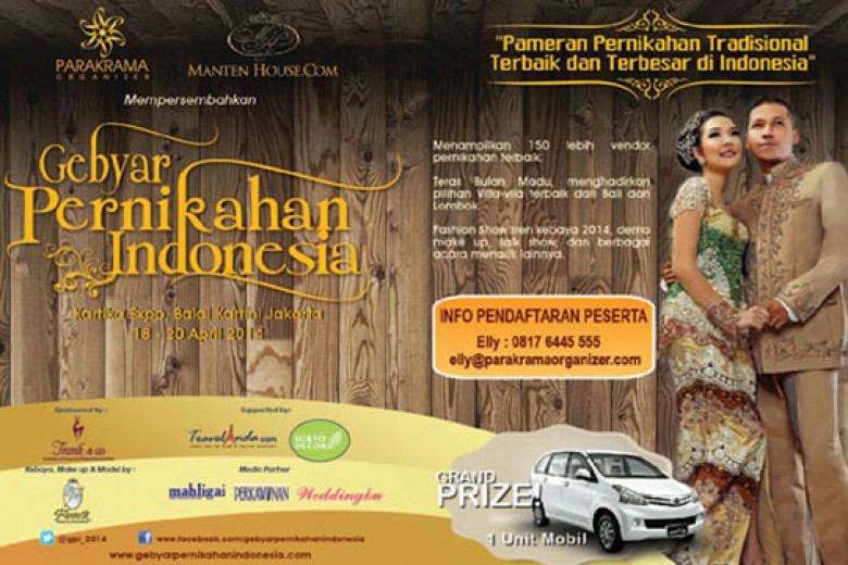 Gebyar Pernikahan Indonesia 2014 – Jakarta