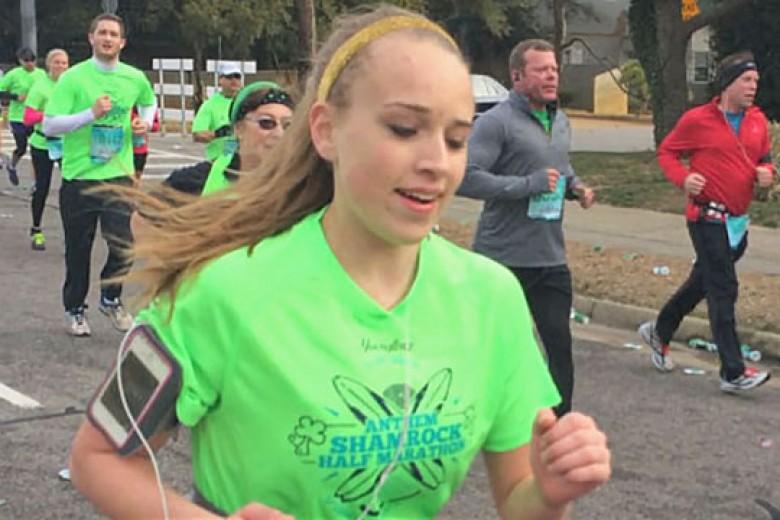 Gadis Muda Ini Meninggal Setelah Melewati Garis Finish