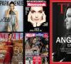 Penampilan Angelina Jolie di berbagai sampul majalah. Tidak melulu membicarakan mode, kecantikan dan keluarga namun juga aktivitas sosialnya.
