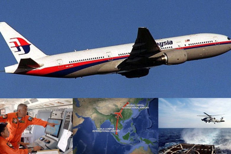 Satelit China Deteksi 3 Puing Malaysia Airlines