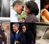 Momen kebersamaan Michelle dan Barack Obama dalam susah dan senang.