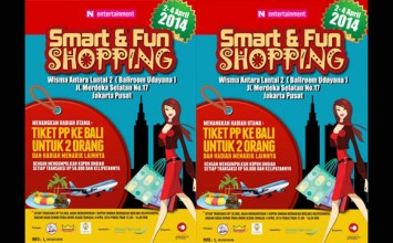 Berburu Barang Diskon di Bazar 'Smart & Fun Shopping'