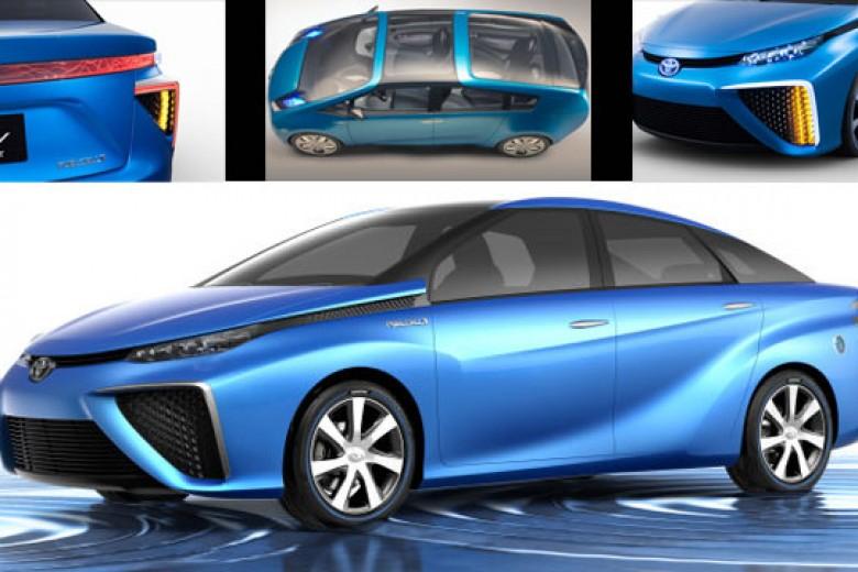 2015, Toyota Bakal Luncurkan Kendaraan Hidrogen