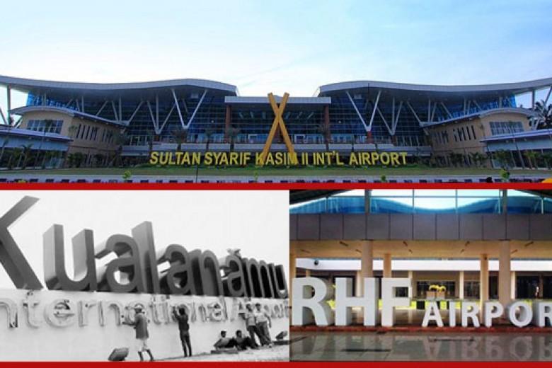 Tiga Bandara Naikkan Pajak