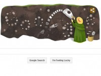 Perempuan Pemburu Fosil di Logo Google
