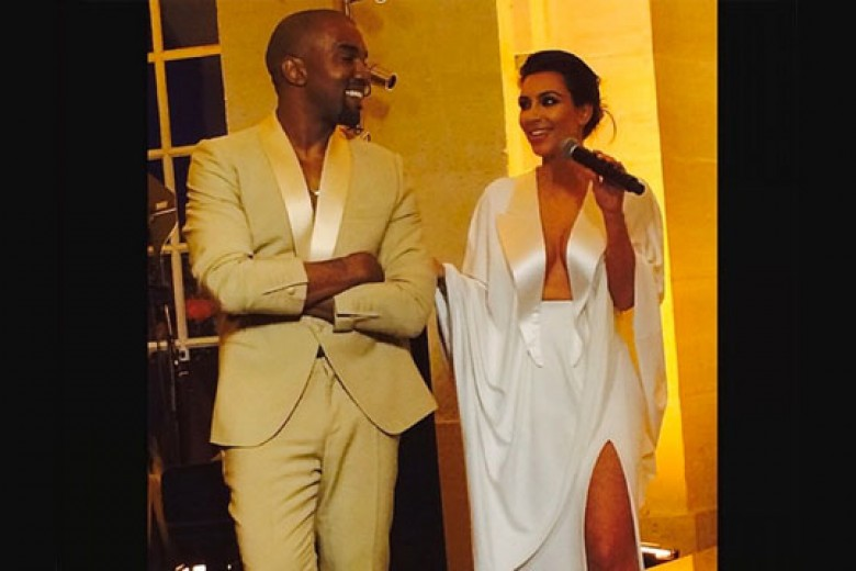 Kim Kardashian dan Kanye West Resmi Menikah