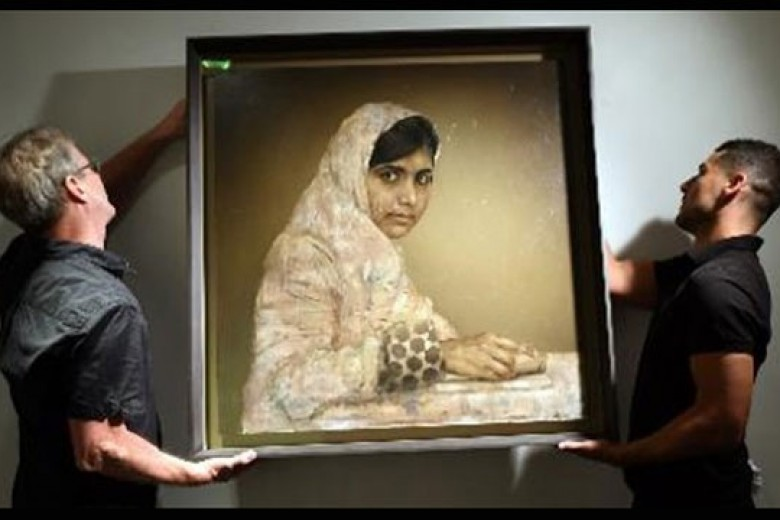 Lukisan Malala Laku Hampir Rp1M!