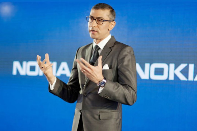 Rajeev Suri, CEO Nokia Non-Ponsel