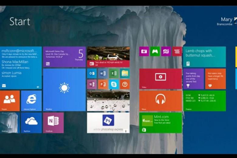 Windows 9 Hadir Tahun Depan