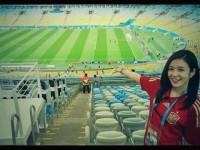 Presenter Curi Perhatian di Piala Dunia