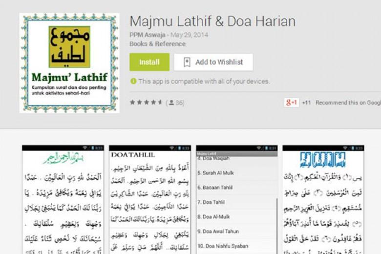 Aplikasi Tahlilan Hadir di Android