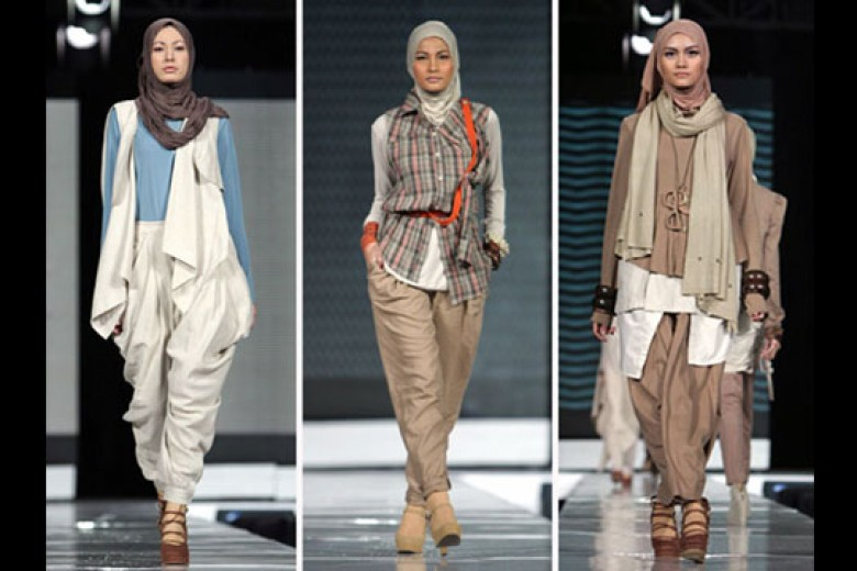 Ambisi RI Jadi Kiblat Fesyen Muslim
