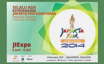 Jakarta Fair 2014 di JIExpo Kemayoran