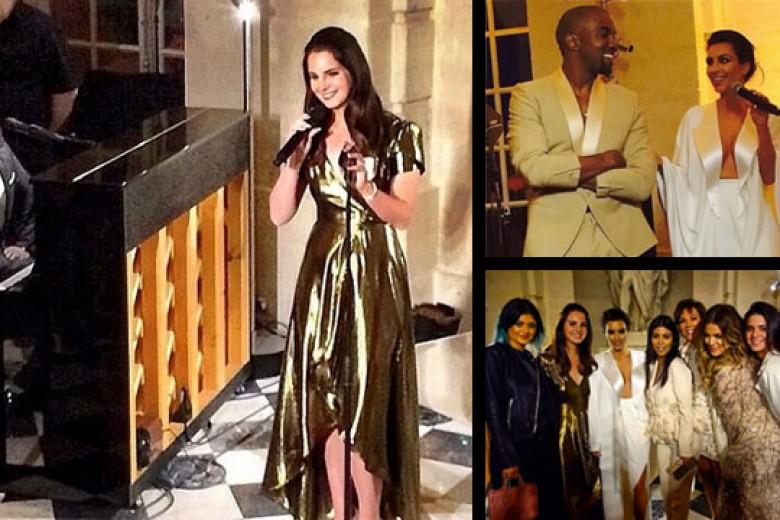 Kim-Kanye Ternyata tak Bayar Lana Del Rey