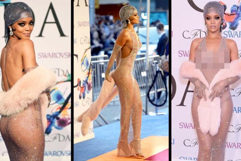 Rihanna Tampil Hampir 'Polos'