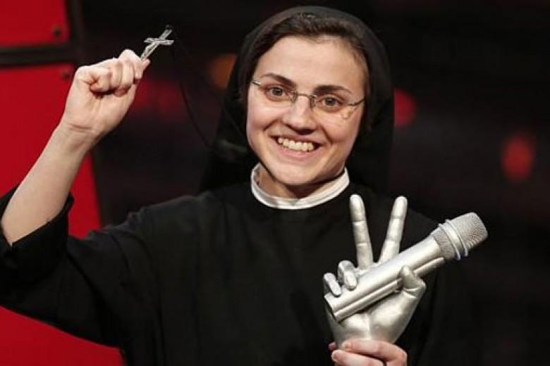Biarawati Jadi Juara The Voice Italia