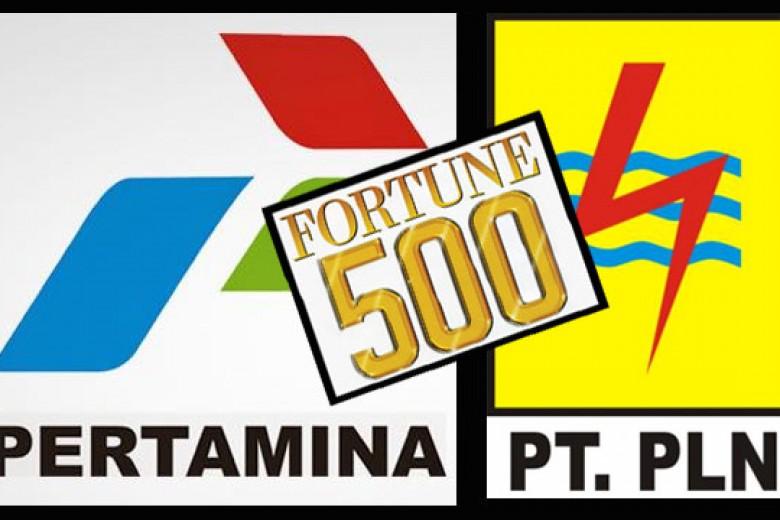 Pertamina dan PLN Masuk Fortune Global 500