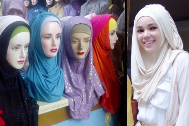 Hijab 'Hana' Jadi Tren di Tanah Abang