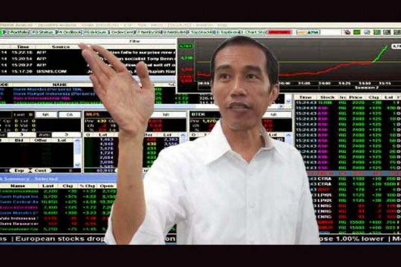 Jokowi Terpilih Presiden, IHSG Tembus Level 5000