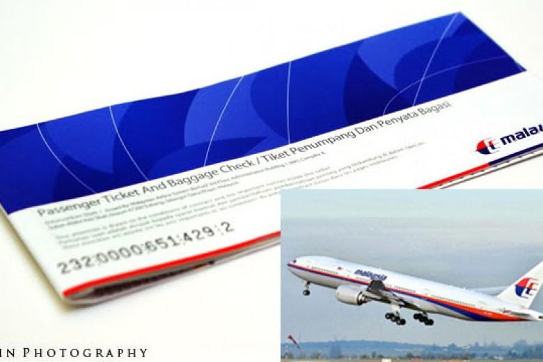 Malaysia Airlines Kembalikan Tiket