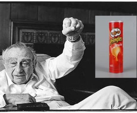 Inventor Pringles Begitu Mencintai Ciptaannya