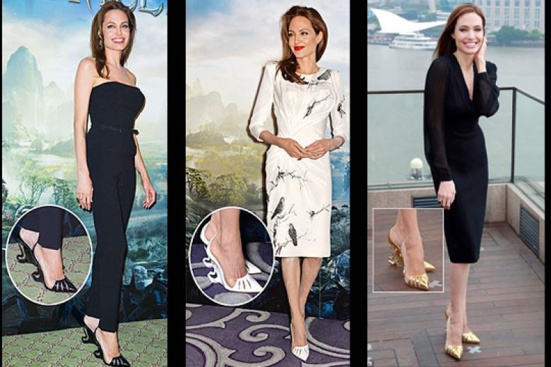 Angelina Jolie Diam-diam Desain Sepatu