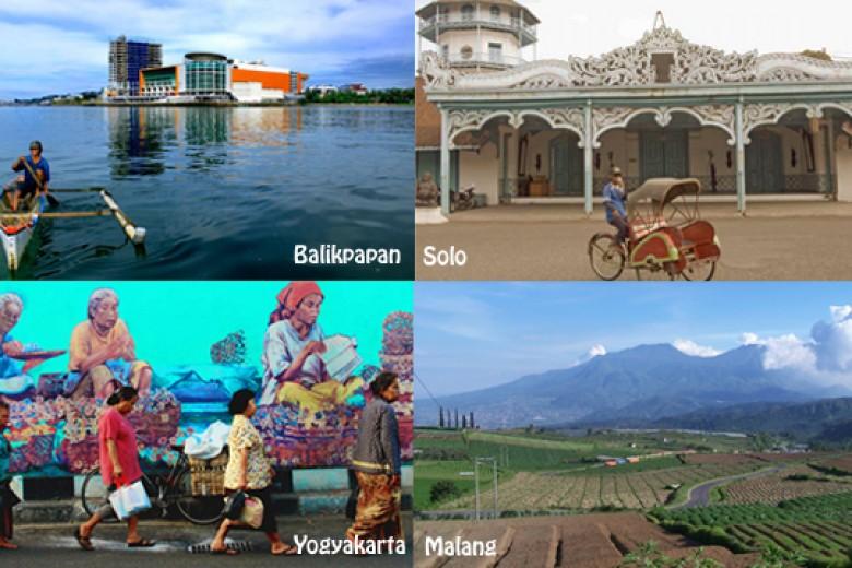 Kota-kota di Indonesia Yang Nyaman Ditinggali