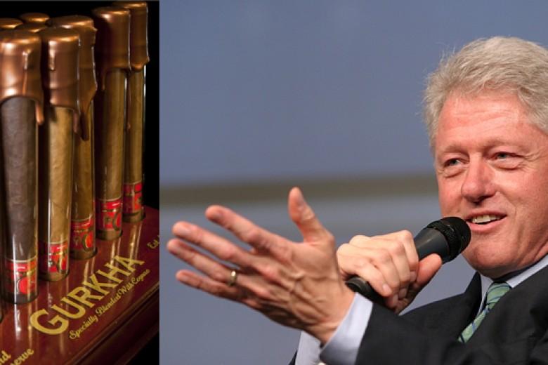 Bill Clinton Gandrungi Cerutu Termahal Sedunia