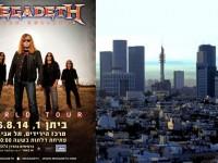 Megadeth Batal Konser di Tel Aviv