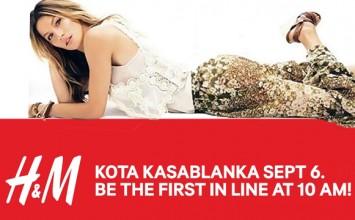 Grand Opening H&M Kota Kasablanka