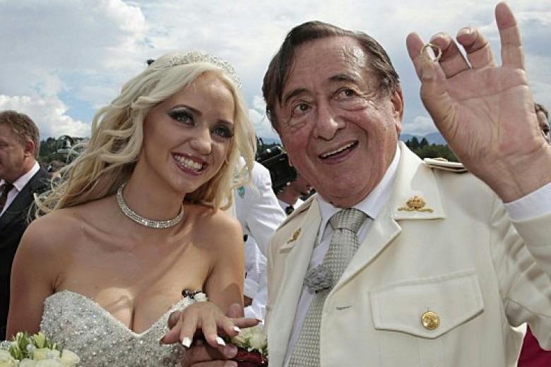 Miliarder 81 Tahun Nikahi Model Playboy 24 Tahun