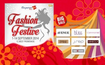 Fashion Festive at Emporium Pluit Mall