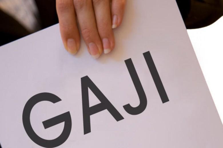 Duh! Rasio Gaji di Indonesia Tidak Sehat