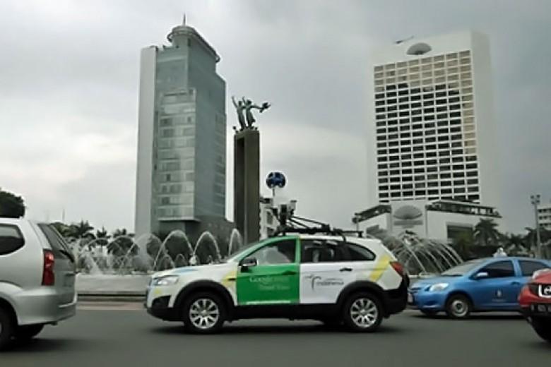 Senangnya, Sudah Bisa Pakai Google Street View