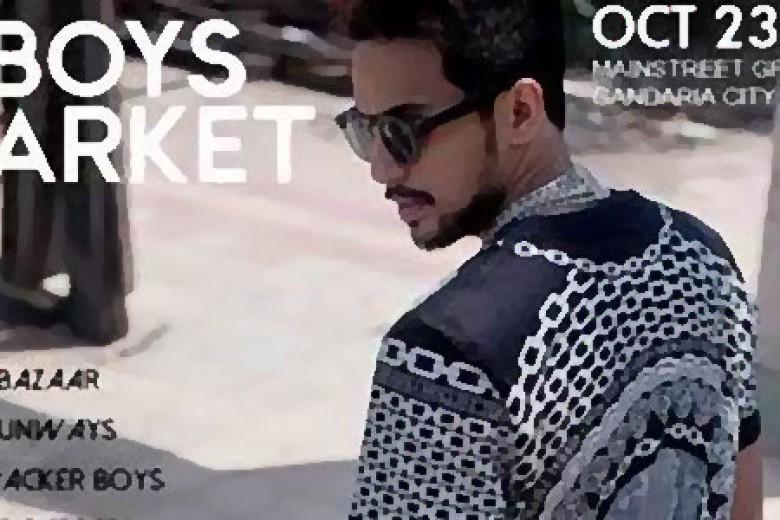 Boys Market 2014 Fashion Bazaar