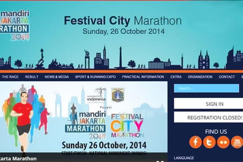 Jakarta Marathon, Ini Jalan-Jalan yang Ditutup