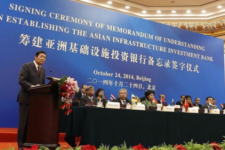Tiongkok dan 20 Negara Bentuk Bank  Asia