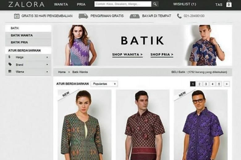 Zalora Ajak Pemilik Brand Batik 'Goes Online'