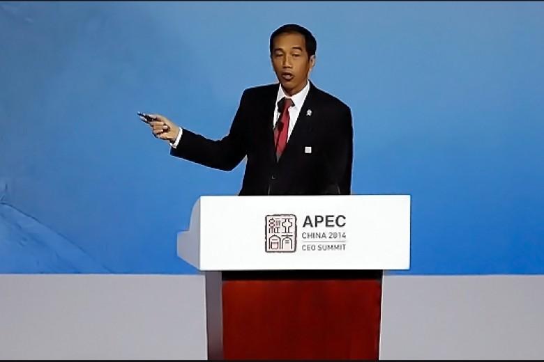 Gaya Jokowi Berbicara di KTT APEC