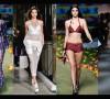 Seksinya Kendall dalam pakaian minim dan transparan
