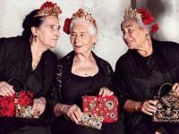Ketika Nenek-Nenek Jadi Model Merek Ternama