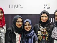 4 Desainer Promosikan Busana Muslim di Inggris