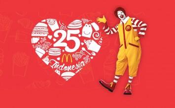 Rayakan Ultah McDonalds di CFD Sarinah