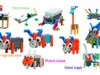 Edukasi Anak dengan Robot Mainan