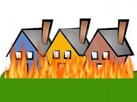 Mudik, Rumah Rawan Kebakaran