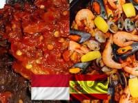 Kolaborasi Kuliner Padang-Spanyol